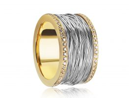 Ring - Golden coil