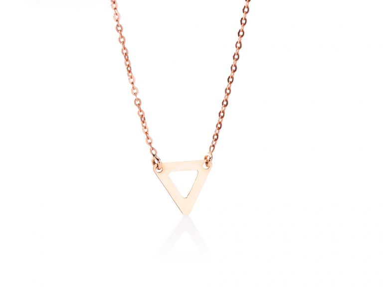 The Way necklace, Triangle - small