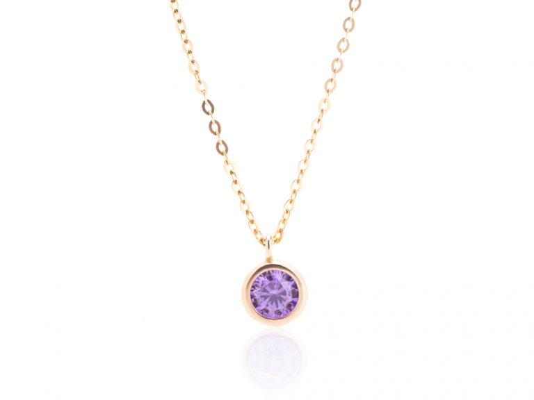 Necklace - Colorful stones, large